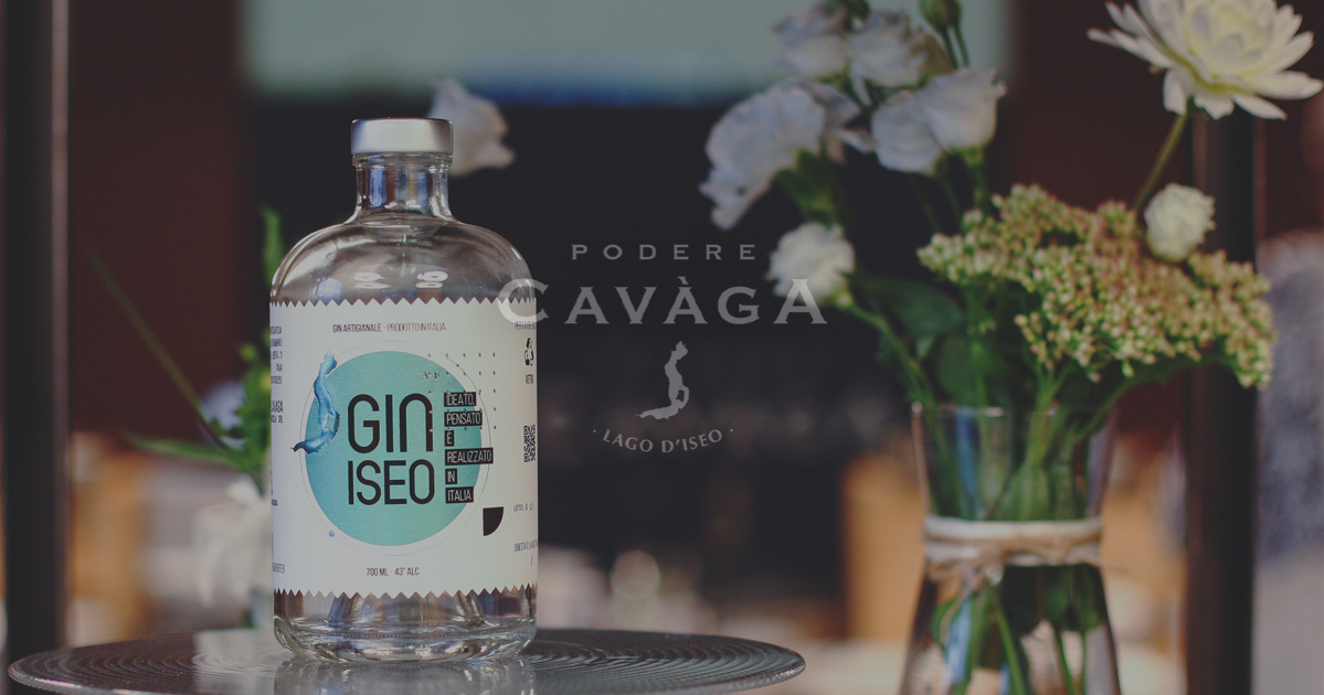 Gin Iseo Podere della Cavaga