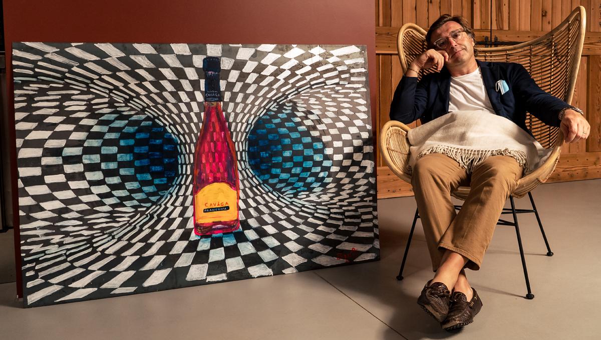 Vino e Arte: il progetto che racconta Cavaga
